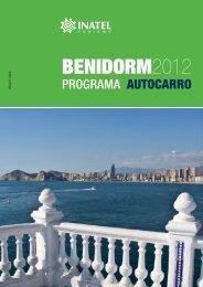 Programa Autocarro Benidorm - Inatel
