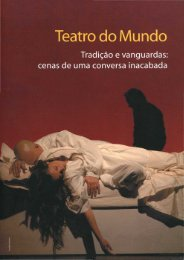 Teatro do mundo : tradição e vanguardas: cenas de - Universidade ...