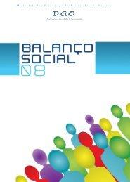 Relatório do Balanço Social de 2008 - DGO
