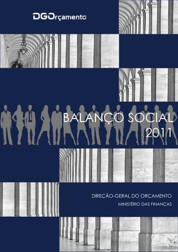 Relatório do Balanço Social de 2011 - DGO