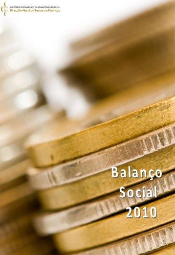 Balanço Social 2010 - DGTF
