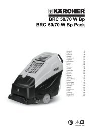 BRC 50/70 W Bp BRC 50/70 W Bp Pack - Kärcher