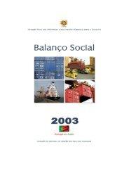 Balanço Social de 2003