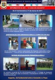 Sargento, elo fundamental entre o Comando e a Tropa - Escola de ...