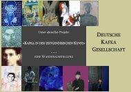 Flyer DKG Buchmesse 2006 - Deutsche Kafka-Gesellschaft
