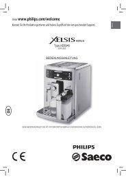 Bedienungsanleitung - Kaffee-Service-Balzen