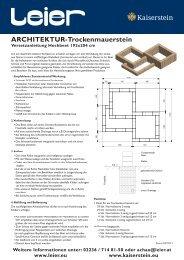 Architektur Trockenmauerstein Versetzanleitung.indd