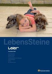 Preisliste 2010 - Kaiserstein Gesellschaft mbH