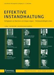 EFFEkTIvE INSTANdhALTuNg - Dr. Kalaitzis & Partner