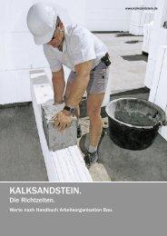 PDF-Dokument 386 KB - Kalksandsteinwerk Amberg