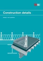 Construction details - Kalzip
