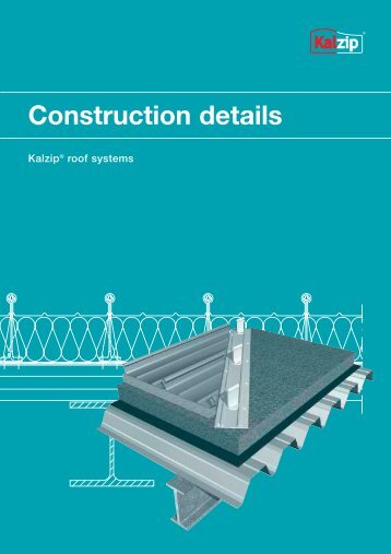 Construction details - Kalzip
