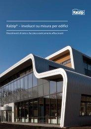 Kalzip® – involucri su misura per edifici