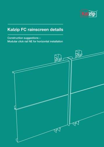 Kalzip FC rainscreen details