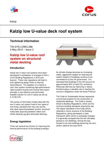 Kalzip Roof Weight Amp Kalzip Roofing Exu0026le