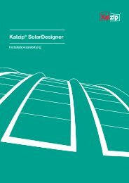 Kalzip® SolarDesigner