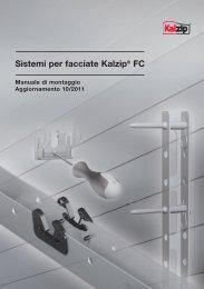 Sistemi per facciate Kalzip® FC