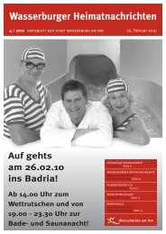 PDF-Datei, 1,40 MB - Wasserburg am Inn!