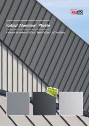 Kalzip® Aluminium Pliable