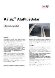 Kalzip AluPlusSolar