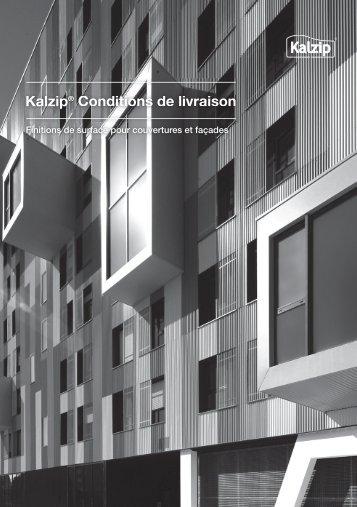 Kalzip® Conditions de livraison