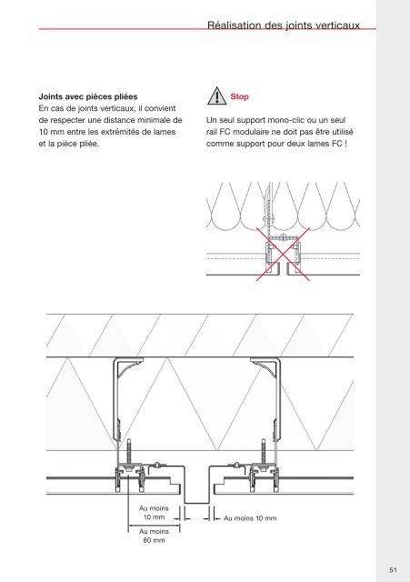 Système de façades Kalzip® FC