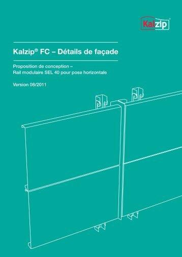 Kalzip® FC – Détails de façade