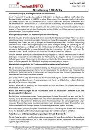TechnikINFO Novellierung 1.BImSchV - HKI