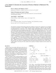 A New Method To Determine the Generation of Hydroxyl Radicals in ...