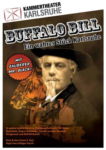 Buffalo Bill - Kammertheater Karlsruhe