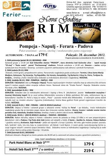 Rim autobusom 7 dana 179