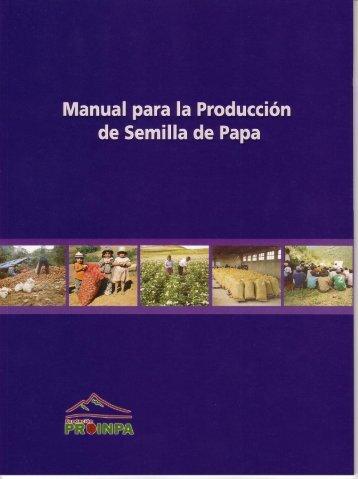 Manual para la Producción - Fundación PROINPA