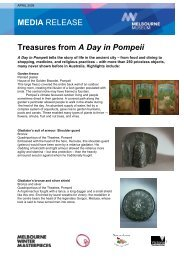 Treasures from A Day in Pompeii - Museum Victoria