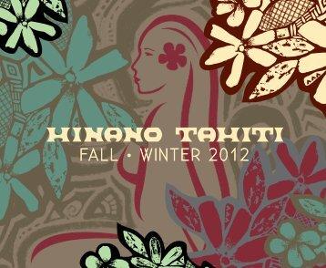 FALL • WINTER 2012 - Hinano Life