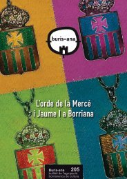 L'orde de la Mercé i Jaume I a Borriana - ajuntament de burriana