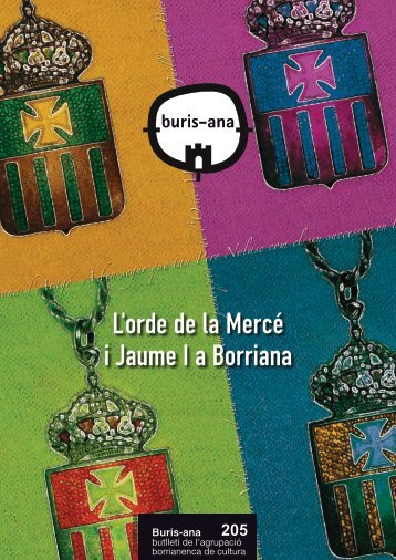 L'orde de la Mercé i Jaume I a Borriana - ajuntament de burriana
