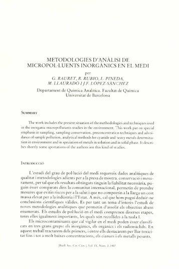 Article sencer - Portal de Publicacions