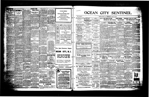 May 1914 On Line Newspaper Archives Of Ocean City