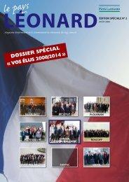 Edition spéciale N°2 - Communauté de Communes du Pays Léonard