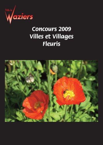 Téléchargez le livret Villes et Villages Fleuris 2009! - Commune de ...