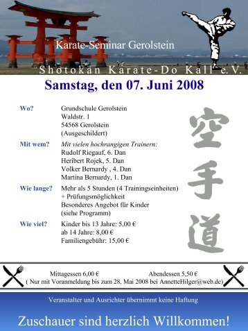 Kein Folientitel - Karate-Do Overath e.V.
