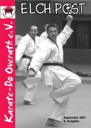 Sport ist Mord - Karate-Do Overath e.V.