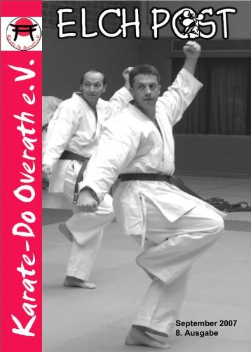 Sport ist Mord - Karate-Do Overath e.V.