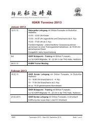 IGKR Termine 2012 - Karateverband Baden-Württemberg e.V.