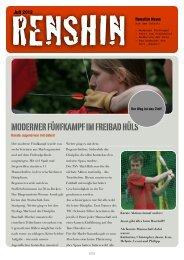 Renshin-News Juli 2012 - Marler Verein für Karate