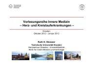 Rhythmusstörungen Prof. Strasser - Kardiologie Dresden