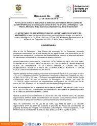 Resolución No. ___ 418___ - Portal Único de Contratación