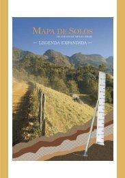 Mapa de Solos do Estado de Minas Gerais - Legenda Expandida