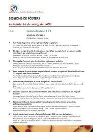 ProgrDef09.ps [ 1 ] - Societat Catalana de Pediatria