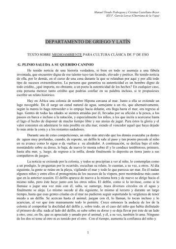 El delfín. PLINIO El JOVEN, Cartas.pdf